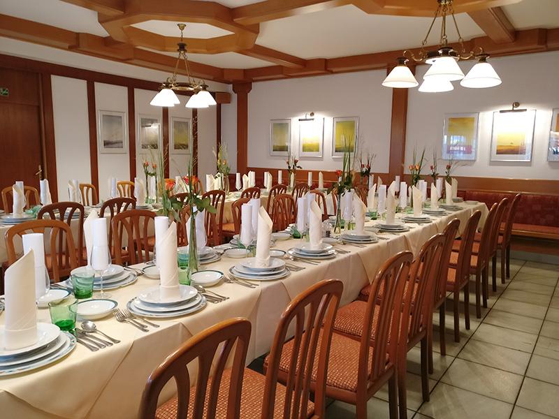 Speisesaal im Landgasthaus Sittinger