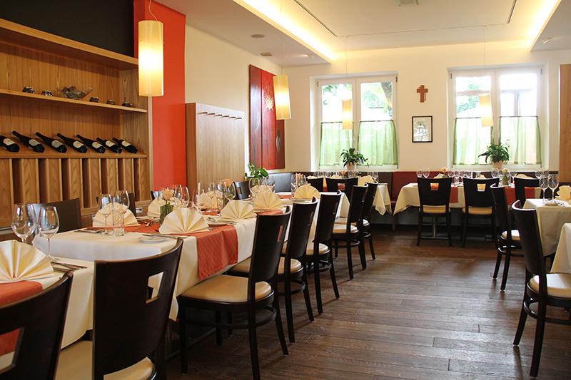 Speisezimmer im Landgasthaus Sittinger